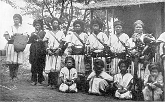 Myelat - Picture of people in Myelat taken by Sir George Scott (1851–1935).