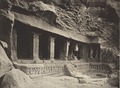 KITLV 88178 - Unknown - Temple in a cave at Badami in British India - 1897.tif