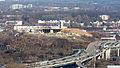 Kalkberg, Rettungshubschrauberstation im Bau, Stadtautobahn B55a, Köln-6008.jpg