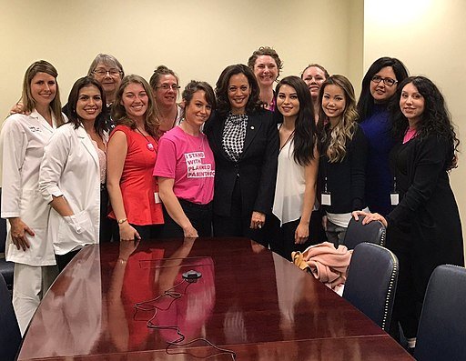 Kamala Harris meeting with advocates from Planned Parenthood Action Fund C53hx uU8AIwn t (cropped)