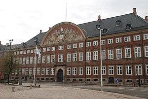 Ministry of Finance (Denmark) - Image: Kancellibygningen (Slotsholmen)