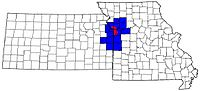 Map of Kansas City Metropolitan Area