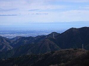 English: Tokyo Metropolitan Area from Mount Ka...