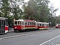 Karlovo náměstí, historická tramvajová souprava (02).jpg