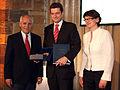 Karlsmedaille für europäische Medien an Reporter ohne Grenzen, 2009.jpg