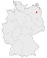 Karte Neustrelitz in Deutschland.png
