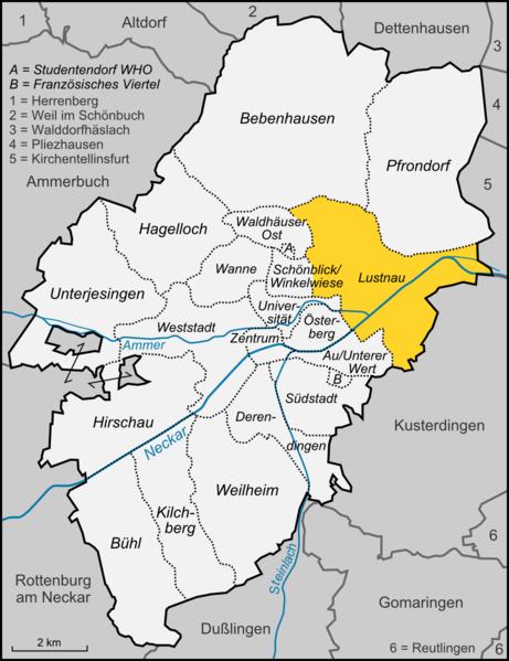 Datei:Karte Tübingen Stadtteil Lustnau.png