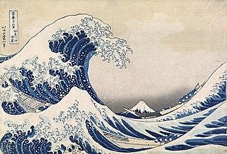 National Gallery of Victoria - Katsushika Hokusai, The Great Wave off Kanagawa, c. 1830