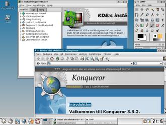K Desktop Environment 3 - K Desktop Environment 3.3.