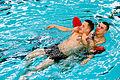 Keeler lifeguards pool their weight 130319-A-BP373-727.jpg