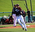 Kelly Johnson fields grounders (25160871712).jpg
