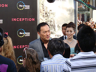 Ken Watanabe - Watanabe at the premiere of Inception in July 2010