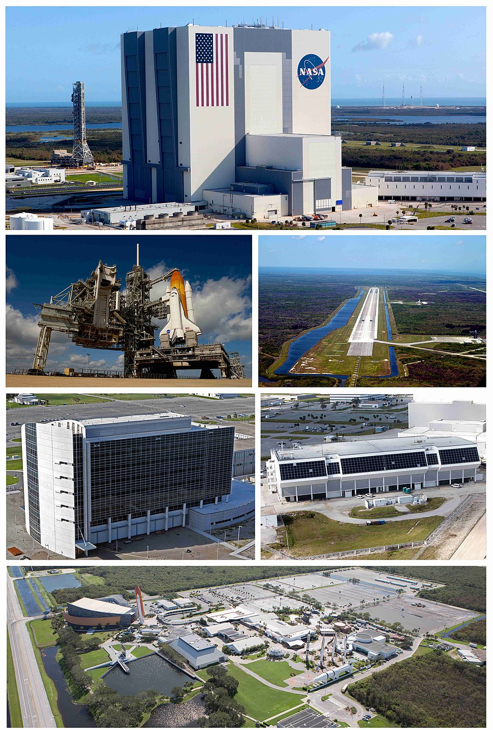 Kennedy Space Center composite photograph