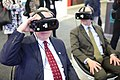 Kent Logsdon uses a virtual reality headset, 2018.jpg