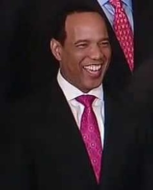 Kevin Keatts - Keatts at the White House in 2013.