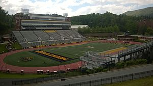 Appalachian State University - Kidd Brewer Stadium