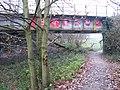 Killamarsh - railway crossing of Chesterfield Canal - geograph.org.uk - 1617180.jpg