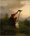 King Heimer and Aslög (August Malmström) - Nationalmuseum - 19956.tif
