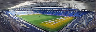 King Power Stadium - Image: King Power Stadium wide view