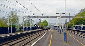 """Kings Langley railway station - """"Kings Langley station, 2004."""