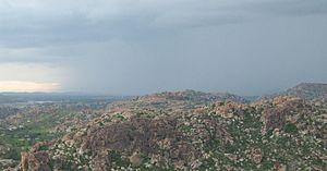 Anegundi - Image: Kishkindha Panromic View