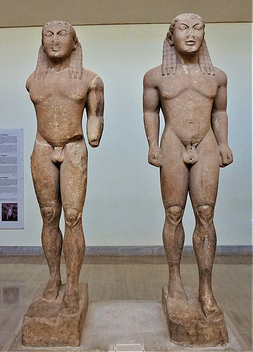 Kleobis and Biton - Delphi Archaeological Museum