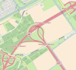 Knooppunt Almere kaart.png
