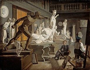 Scène de l'Académie de Copenhague
