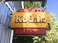 Kodak - kameror - film, Ekholms fotoateljé, Kallinge.jpg