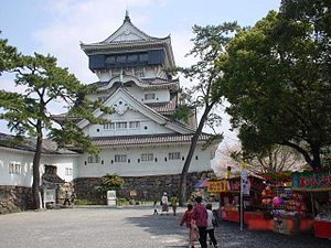 Kokura Castle - The keep or donjon of Kokura Castle