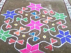 meaning of kolam