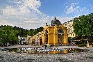 Mariánské Lázně Town in Karlovy Vary, Czech Republic