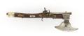 Kombinationsvapen pistolyxa, 1600-talets mitt - Skoklosters slott - 103335.tif