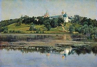 Konstantin Kryzhitsky - Image: Konstantin Kryzhitsky Zvenigorod