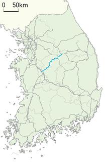 Chungbuk Line railway line in South Korea