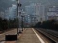 Korail Donghaenambu Line Songjeong Station Platform2.jpg