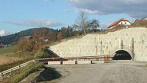 Koralm Tunnel - Western entrance