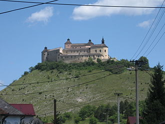 Aristocracy (class) -  A castle, the symbol of the rule of aristocracy in medieval Europe (Krásna Hôrka in Slovakia).