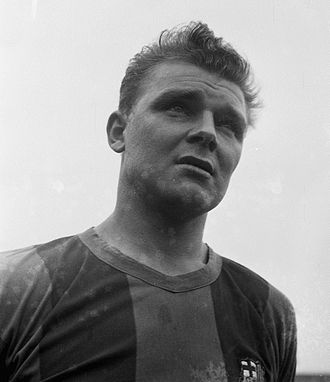 FC Barcelona - The prolific forward, László Kubala, led Barcelona to success in the 1950s. His statue is built outside the Camp Nou.