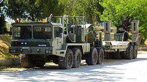 Eight-wheel drive - Image: Kynos Aljaba 8x 8 Ejército Español