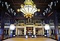 Kyoto Nishi Hongan-ji Gründerhalle Innen 2.jpg
