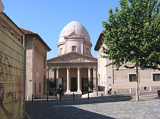 La Vieille Charité - Puget's chapel guards the entrance to La Vieille Charité, Marseille