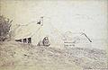 Lépine S. - Ink - Les chaumières - 20.5x14.5cm.jpg
