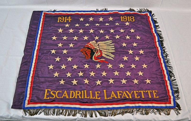 File:LAFAYETTE ESCADRILLE banner.jpg