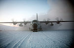 LC-130R Hercules of VXE-6 taking off from McMurdo Station 1987.JPEG