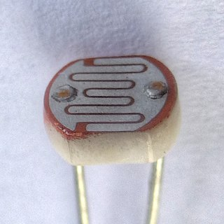 Photoresistor light dependent resistor