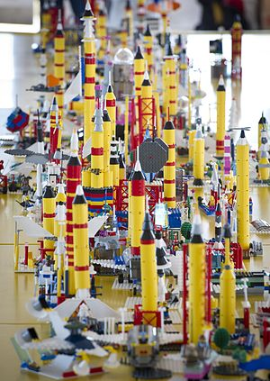 Lego - Lego building at NASA's Kennedy Space Center