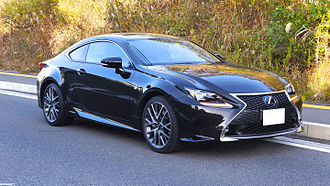 D-segment - Lexus RC, a new entry in the segment