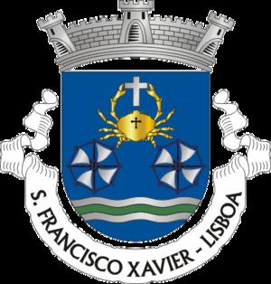São Francisco Xavier (Lisbon) - Image: LSB sfranciscoxavier
