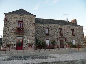 La Croixille - The town hall in La Croixille